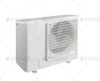 conditioner on white background