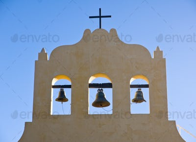 Three bells and a cross