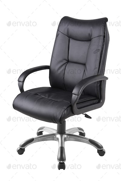 Office chair isolated on white