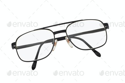 Metal frame spectacles
