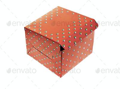 Takeaway paper box