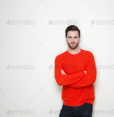 cool guy standing with arms crossed