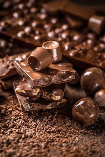 Chocolates and pralines