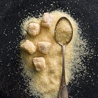 unrefined cane sugar