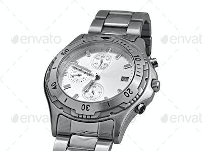 Automatic wrist watch - clipping path