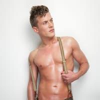 Sexy Man Undressed