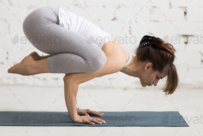 Yoga Indoors: Crane Pose