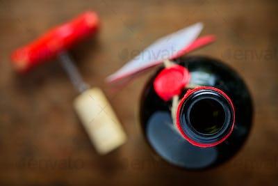 Open Wine Bottle Top