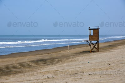 Beach at the argentinean atlantic coast