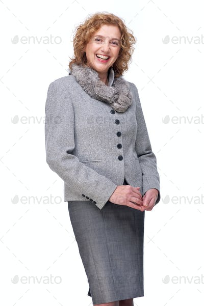 Beautiful Smiling Mature Woman