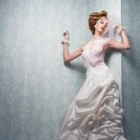 Beautful Bride Indoors
