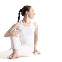 Ardha Matsyendrasana yoga pose