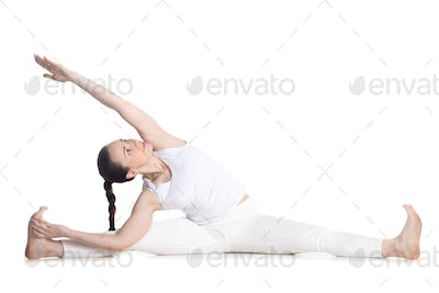 Revolved Seated Angle Pose