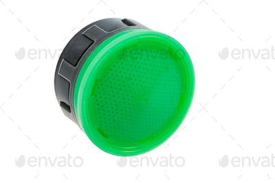 Isolated plastic faucet aerator