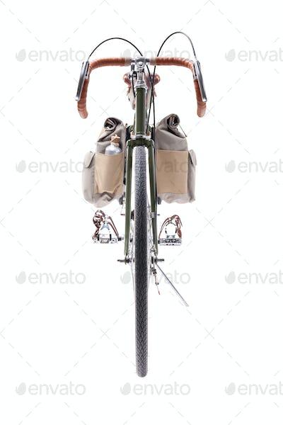 Vintage road bicycle