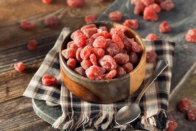Organic Dry Sugared Strawberries