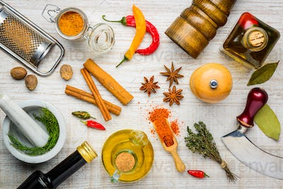 Spices and Cooking Ingredients
