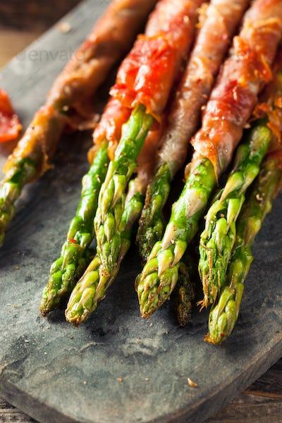 Homemade Prosciutto Wrapped Asparagus