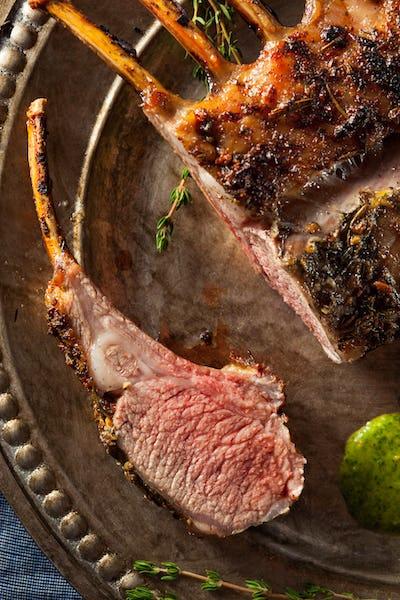 Homemade Herb Roast Lamb