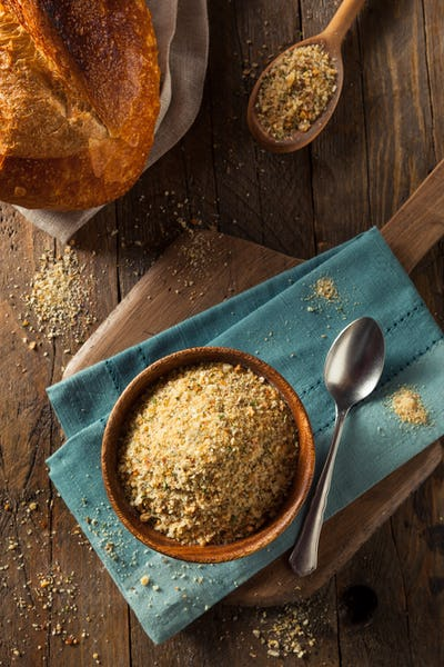 Organic Homemade Bread Crumbs
