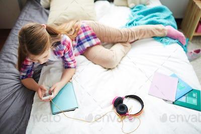 Modern teenage girl