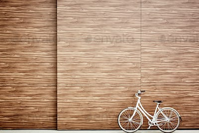 Bicycle outdoors