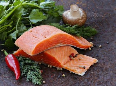 Fresh Salmon (Red Fish) Fillet