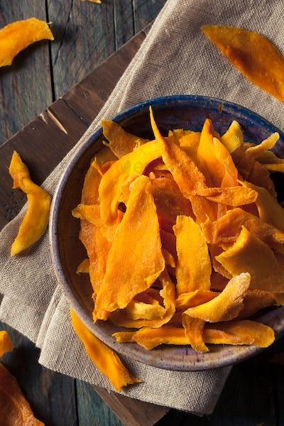 Raw Organic Dried Mangos