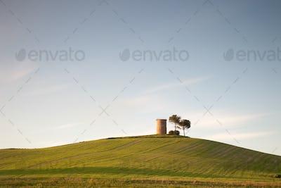 Tuscany, tower of Magona.