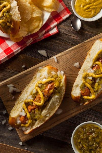 Healthy Grilled Turkey Dog
