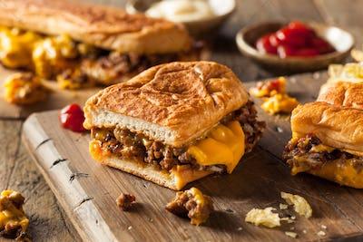 Homemade Chopped Cheese Sandwich