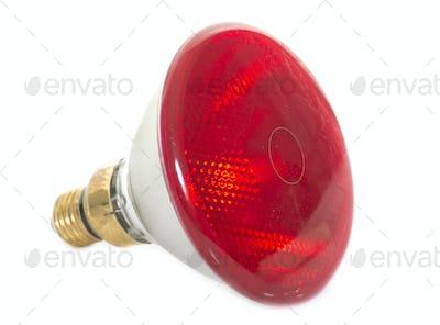infrared bulb in studio