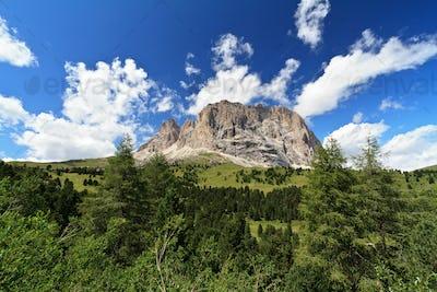 Sassolungo - Langkofel mount