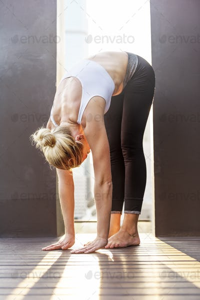 Beautiful Calm Energy Fitness Relaxation Practice Concept
