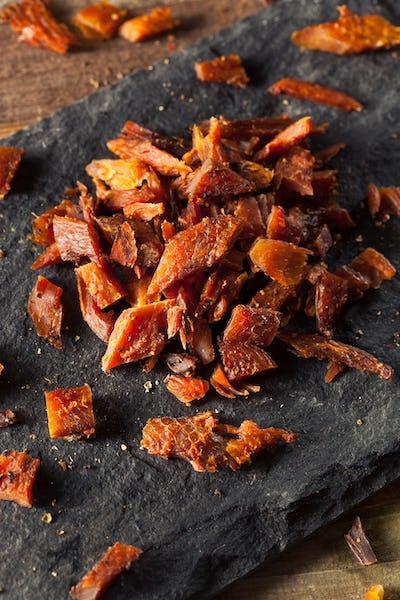 Dried Smoked Salmon Jerky