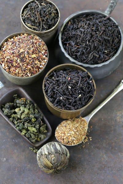 Different Varieties Of Dry Tea