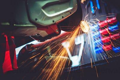 Garage Works Metal Cut