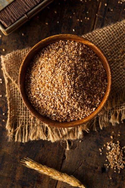 Raw Organic Whole Grain Cracked Wheat