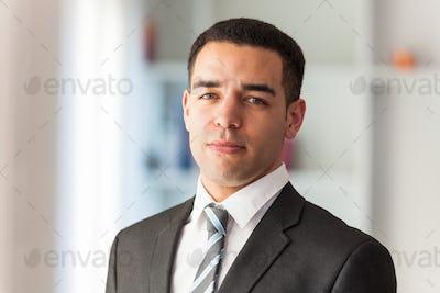 Latin American business man  portrait