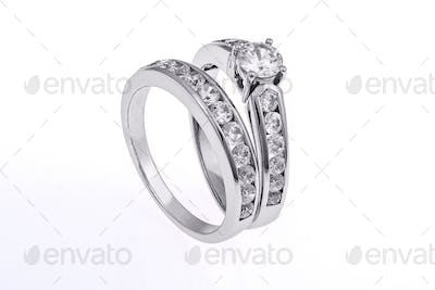 Wedding rings set