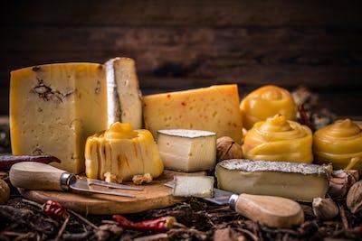 Farm made cheese