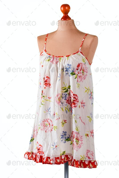 Casual floral sarafan.
