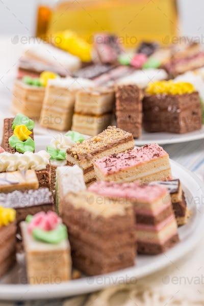 Decorative desserts