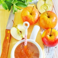 jam and apples