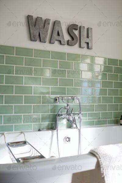 Bathroom Of Contemporary Family Home