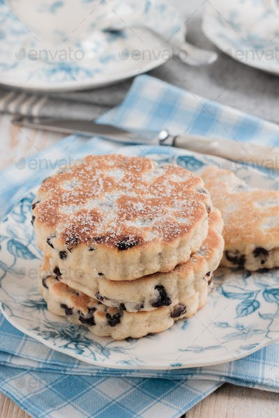 Welsh Cakes or Griddle Cakes