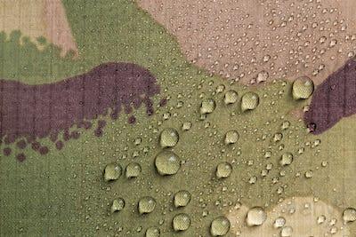 Camouflage waterproof fabric
