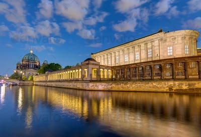 River Spree and Museum Island