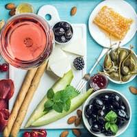 Summer wine snack set