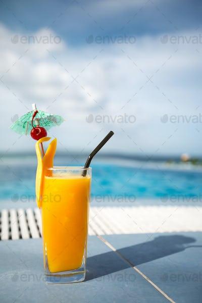 Fresh mango juice
